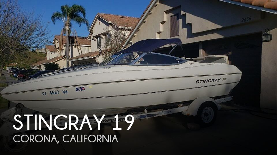 Used Ski Boats For Sale by owner | 2000 Stingray 19