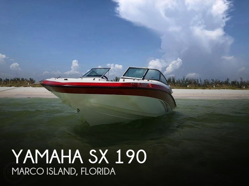 Used Yamaha Boats For Sale in Cape Coral, Florida by owner | 2015 Yamaha sx 190