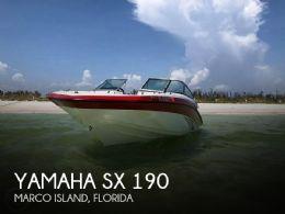 2015 Yamaha sx 190