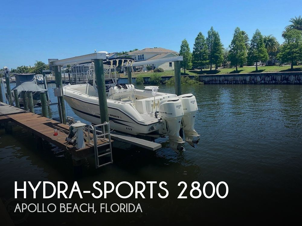 2004 Hydra-Sports boat for sale, model of the boat is 2800 CC Vector & Image # 1 of 40