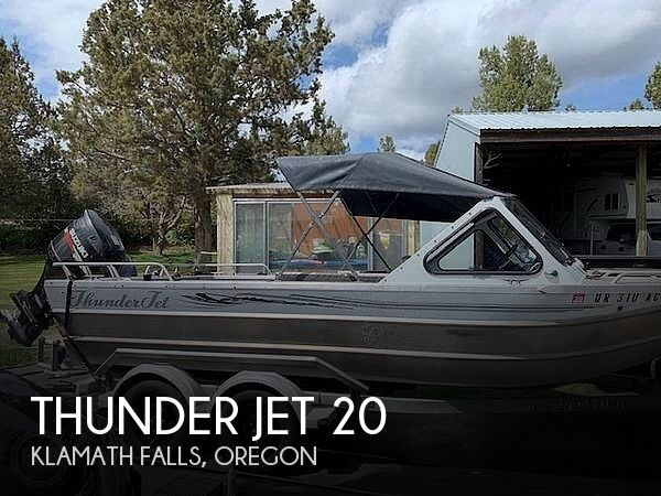 Used Boats For Sale in Medford, Oregon by owner | 2006 Thunder Jet 20