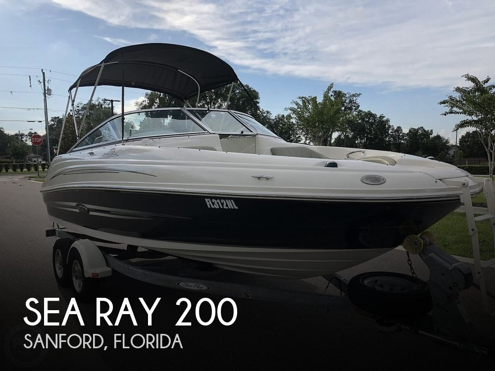 Used Sea Ray 200 Boats For Sale by owner | 2007 Sea Ray Sundeck 200SD