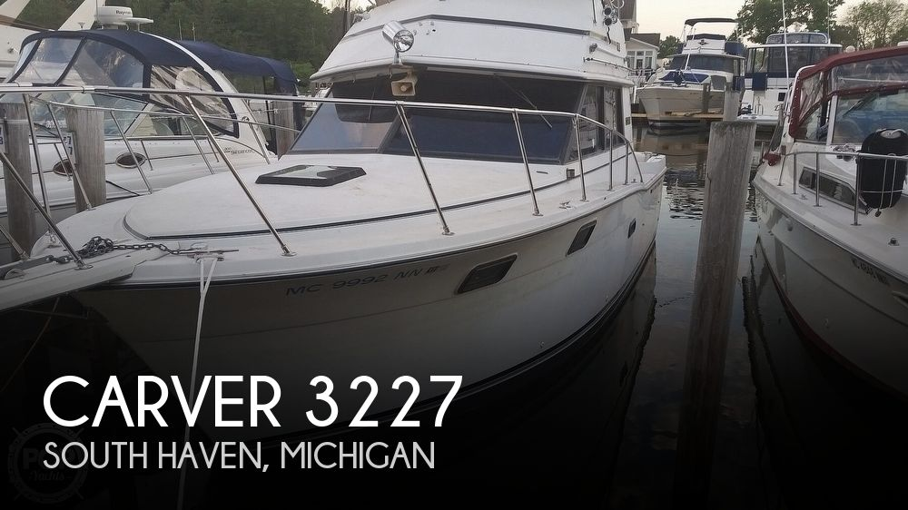 Used Carver 3227 Boats For Sale by owner | 1984 Carver 3227 Convertible