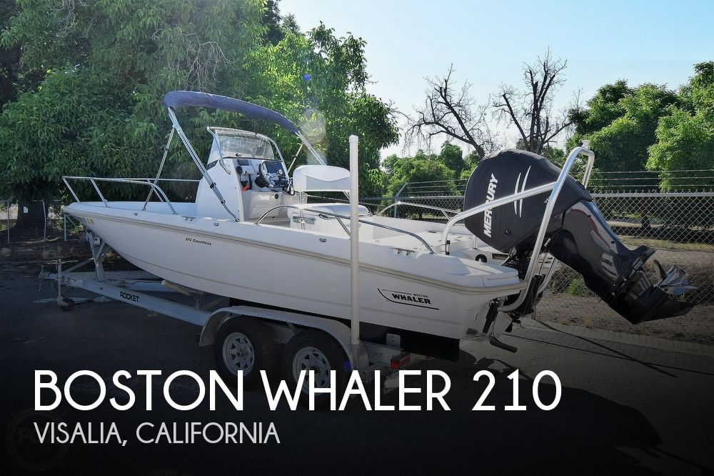 2016 Boston Whaler boat for sale, model of the boat is 210 Dauntless & Image # 1 of 41