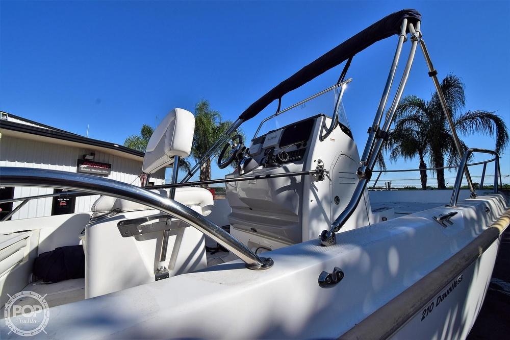 2016 Boston Whaler boat for sale, model of the boat is 210 Dauntless & Image # 16 of 41