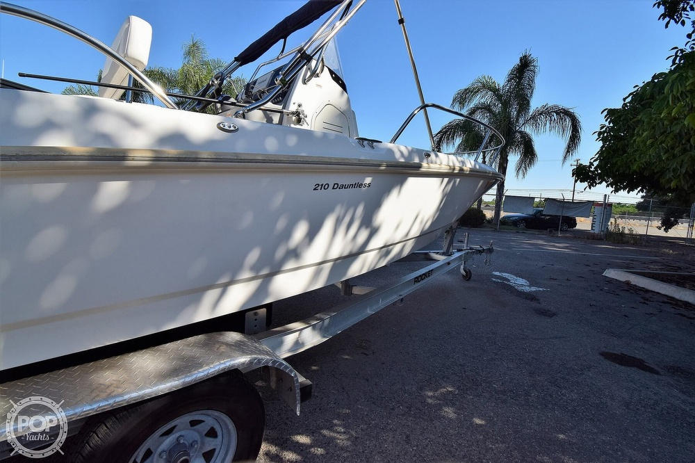 2016 Boston Whaler boat for sale, model of the boat is 210 Dauntless & Image # 37 of 41