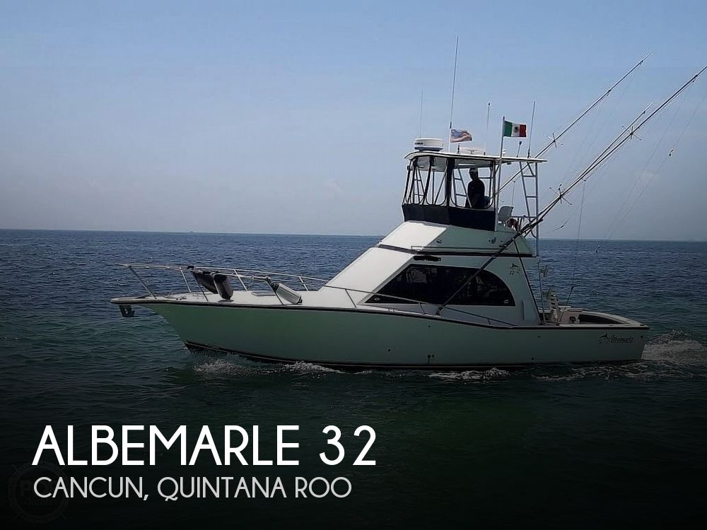 Used Albemarle Boats For Sale by owner | 1995 Albemarle 32