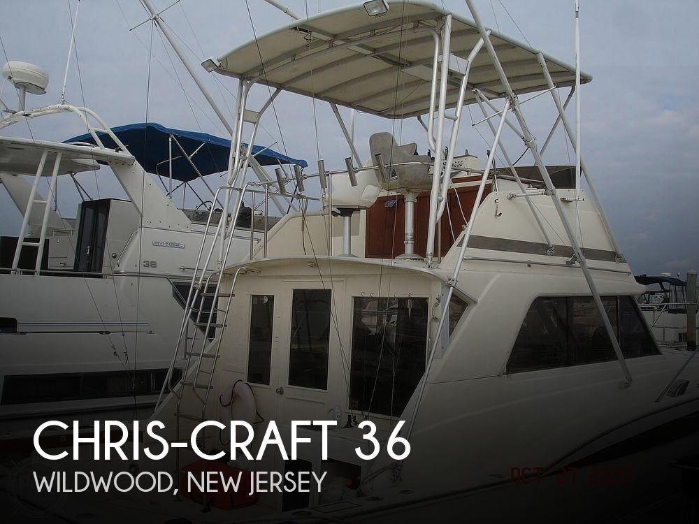 1980 Chris Craft boat for sale, model of the boat is 36 Commander & Image # 1 of 40