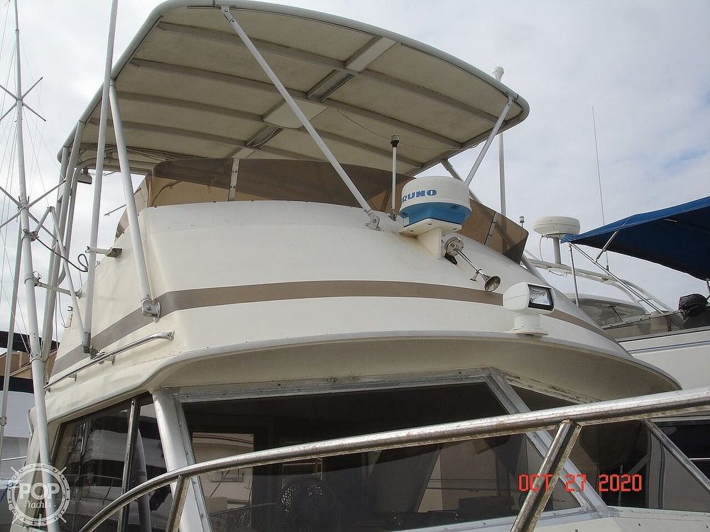 1980 Chris Craft boat for sale, model of the boat is 36 Commander & Image # 13 of 40