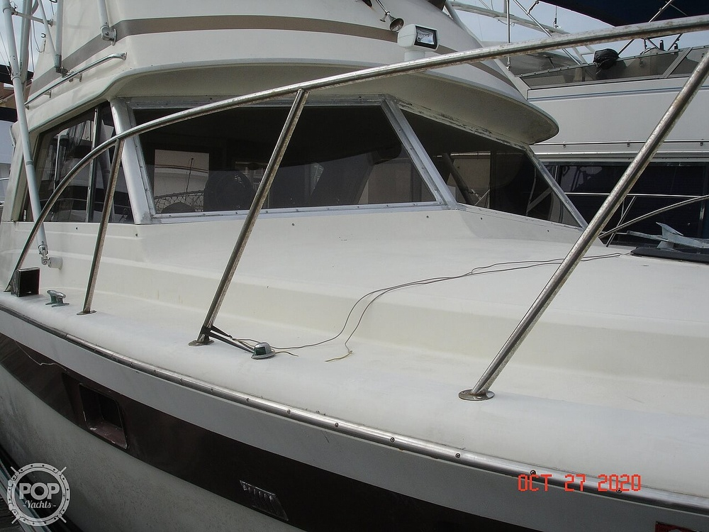 1980 Chris Craft boat for sale, model of the boat is 36 Commander & Image # 14 of 40