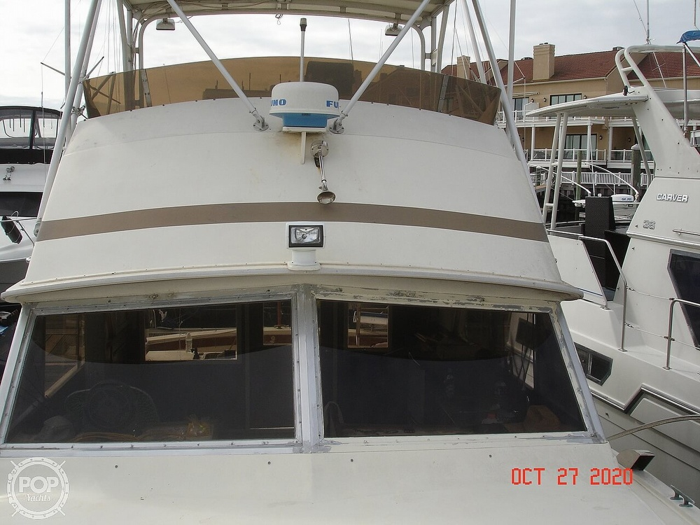 1980 Chris Craft boat for sale, model of the boat is 36 Commander & Image # 28 of 40