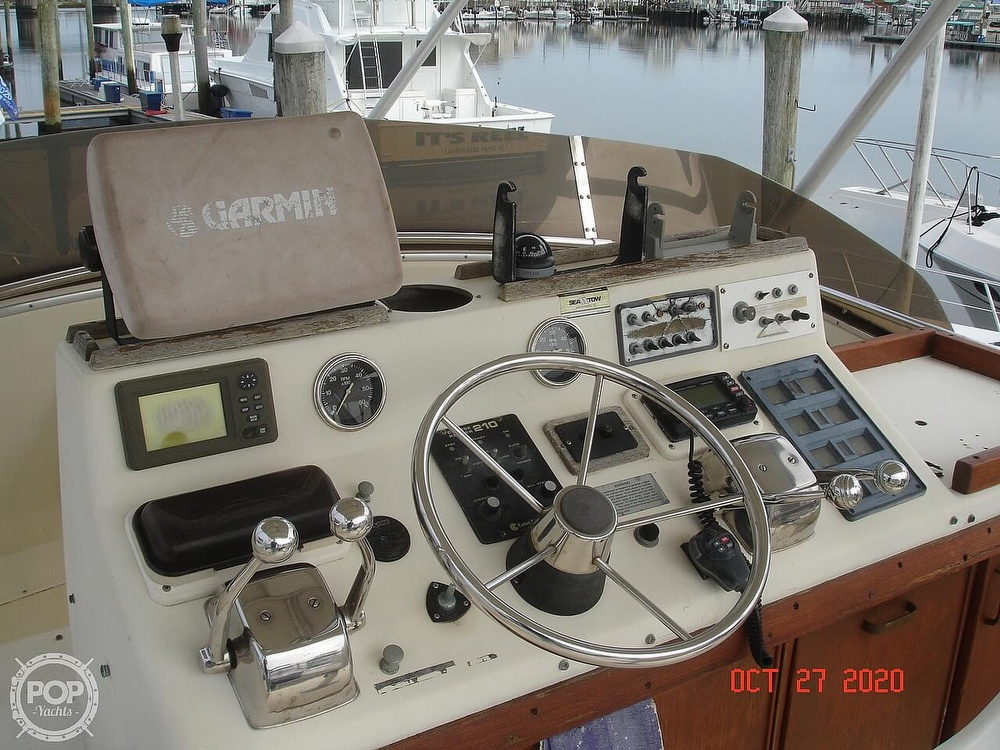 1980 Chris Craft boat for sale, model of the boat is 36 Commander & Image # 40 of 40