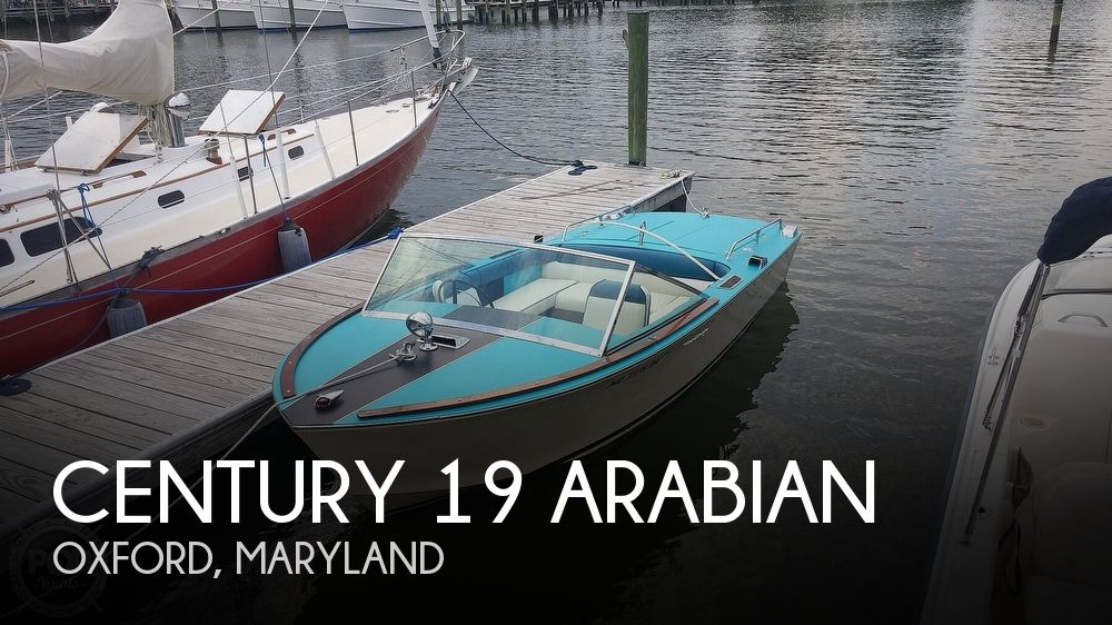 Used Ski Boats For Sale in Maryland by owner   1968 Century 19 Arabian