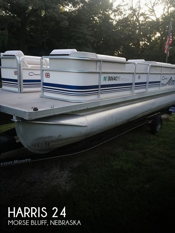 Used Boats For Sale in Omaha, Nebraska by owner | 2000 Harris 24