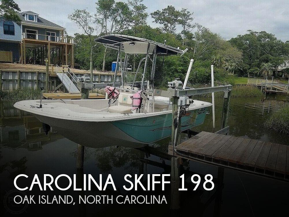 Used Carolina Skiff Boats For Sale in North Carolina by owner | 2016 Carolina Skiff 198