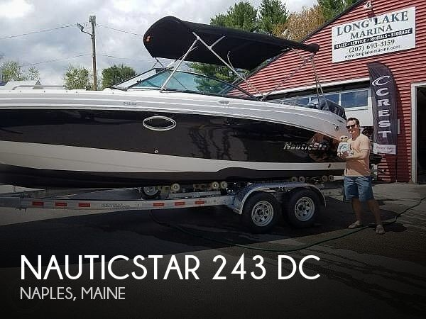 Used NauticStar Deck Boats For Sale by owner | 2017 NauticStar 243 DC