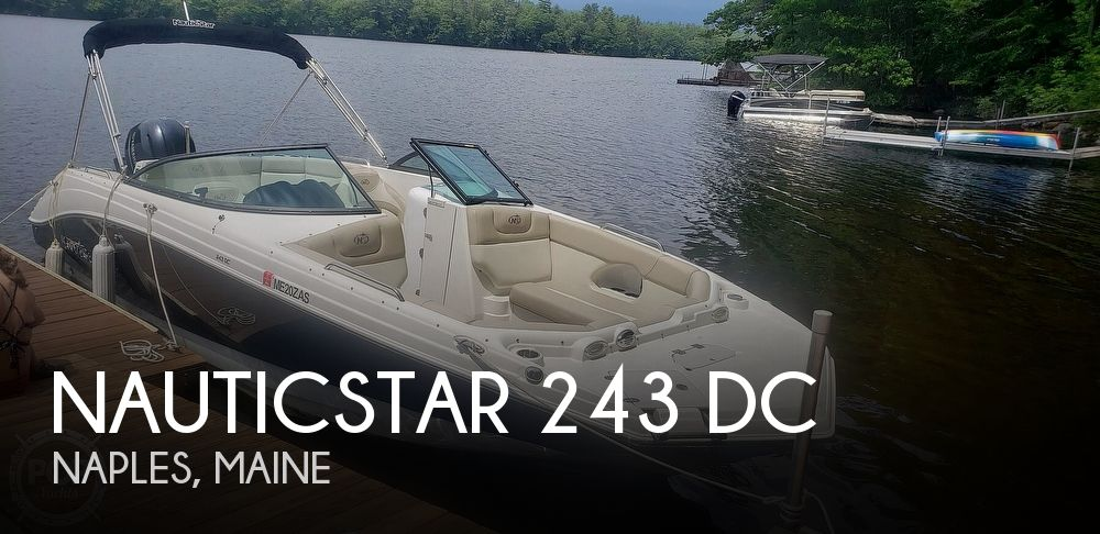 2017 NAUTIC STAR 243 DC for sale