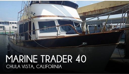 Used Marine Trader Boats For Sale by owner | 1977 Marine Trader 40