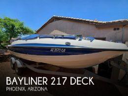 2009 Bayliner 210 Deck