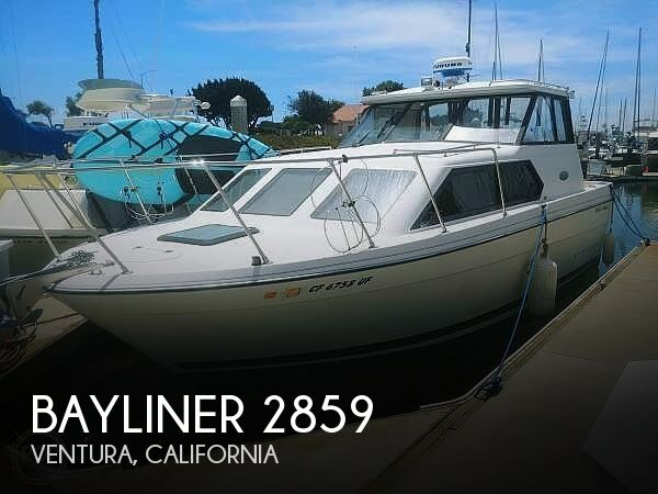 Used Bayliner Boats For Sale in California by owner | 2002 Bayliner 2859