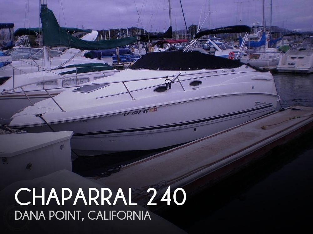 2003 Chaparral boat for sale, model of the boat is 240 & Image # 1 of 3