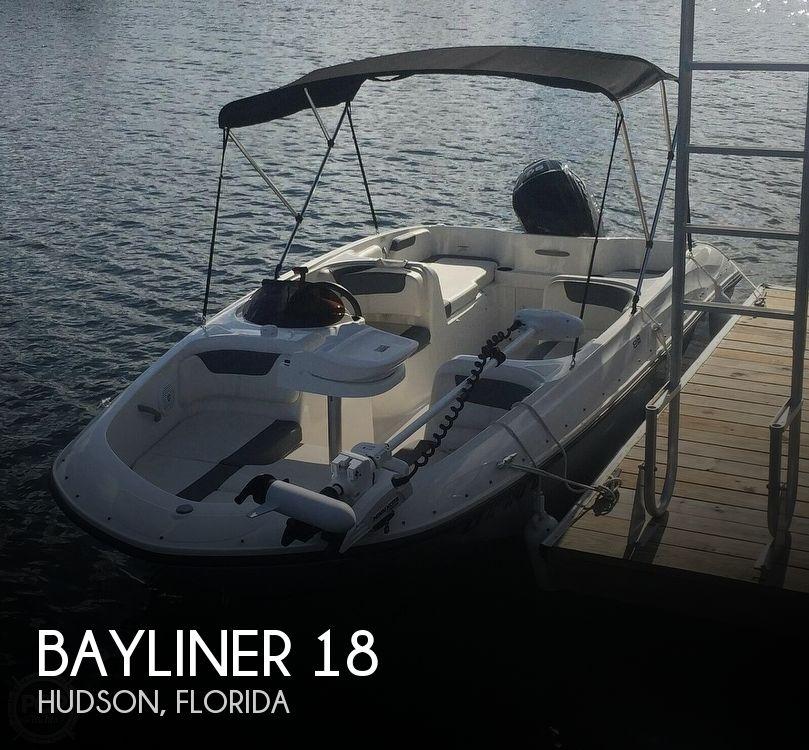 Used Bayliner Deck Boats For Sale by owner | 2019 Bayliner Element E18XL