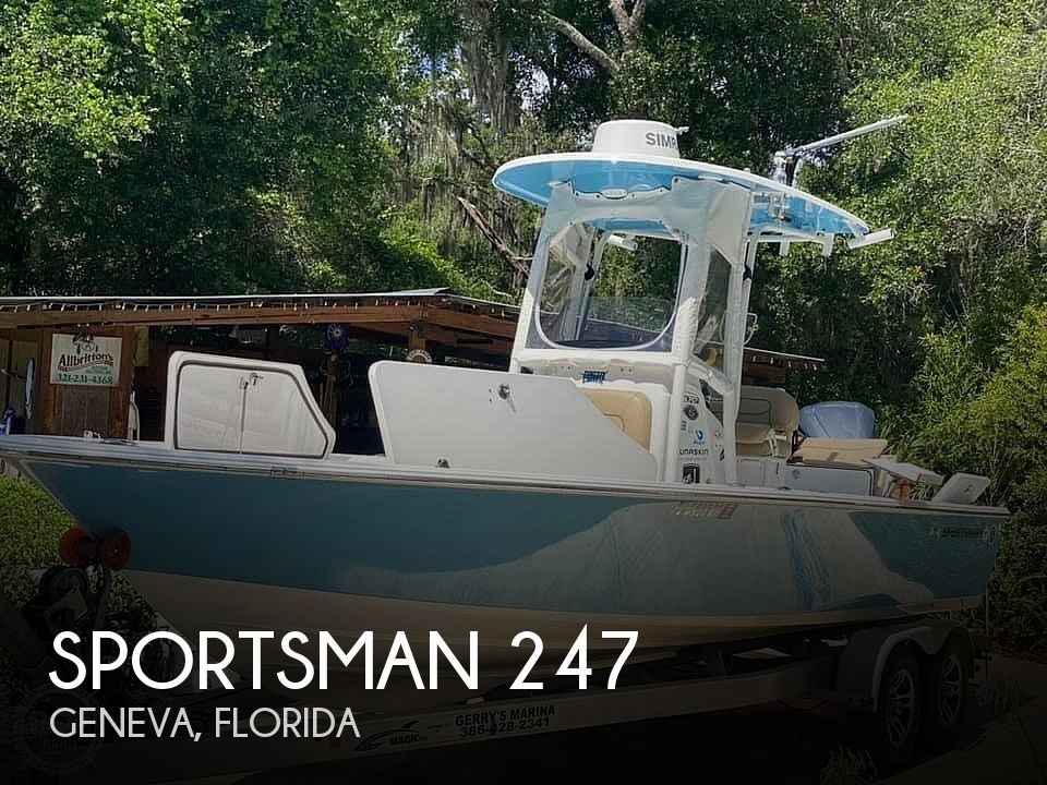 Used Sportsman Boats For Sale by owner | 2017 Sportsman masters 247
