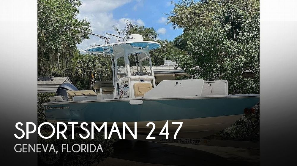2017 SPORTSMAN BOATS MASTERS 247 for sale