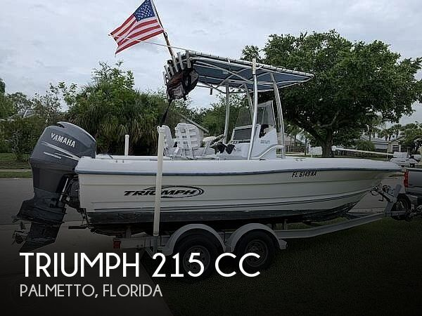 Used Triumph Boats For Sale by owner | 2006 Triumph 215 CC