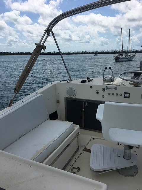 1973 Hatteras boat for sale, model of the boat is 38 Double Cabin & Image # 9 of 41