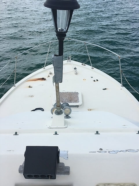 1973 Hatteras boat for sale, model of the boat is 38 Double Cabin & Image # 13 of 41