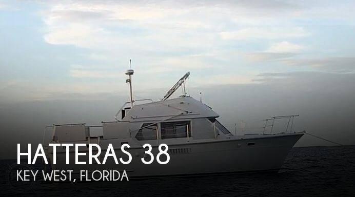 1973 Hatteras boat for sale, model of the boat is 38 Double Cabin & Image # 1 of 41