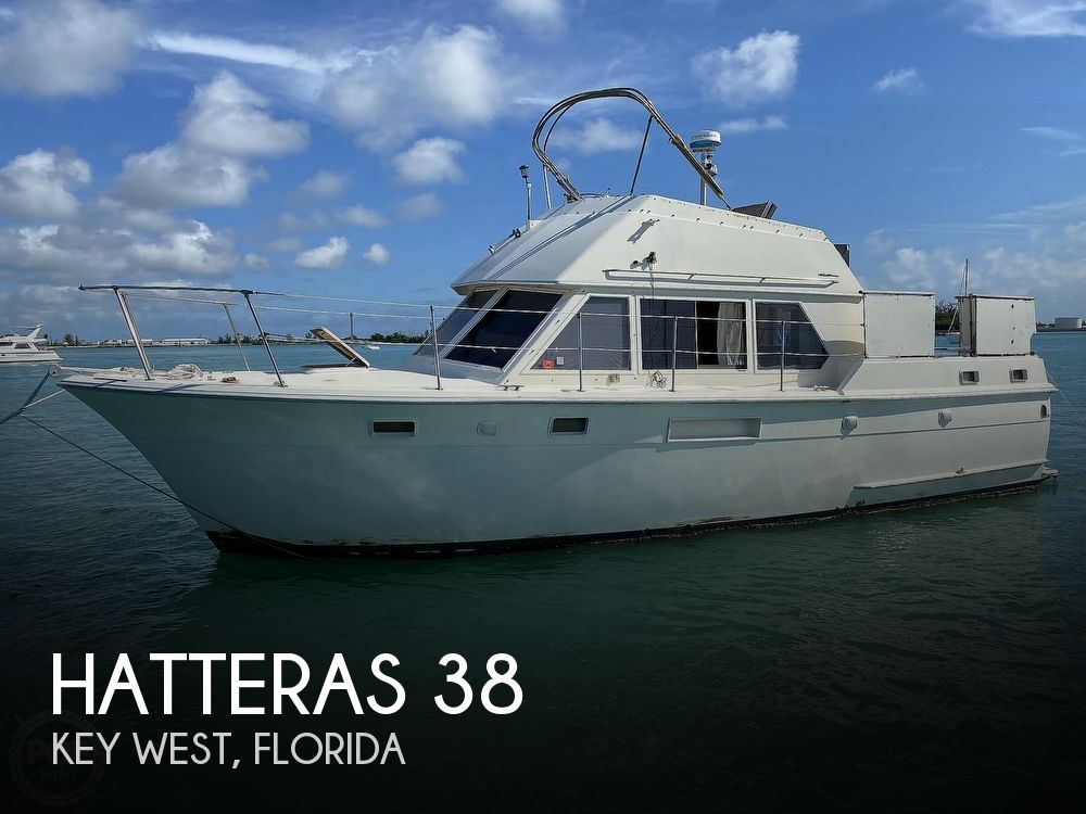 1973 HATTERAS 38 DOUBLE CABIN for sale