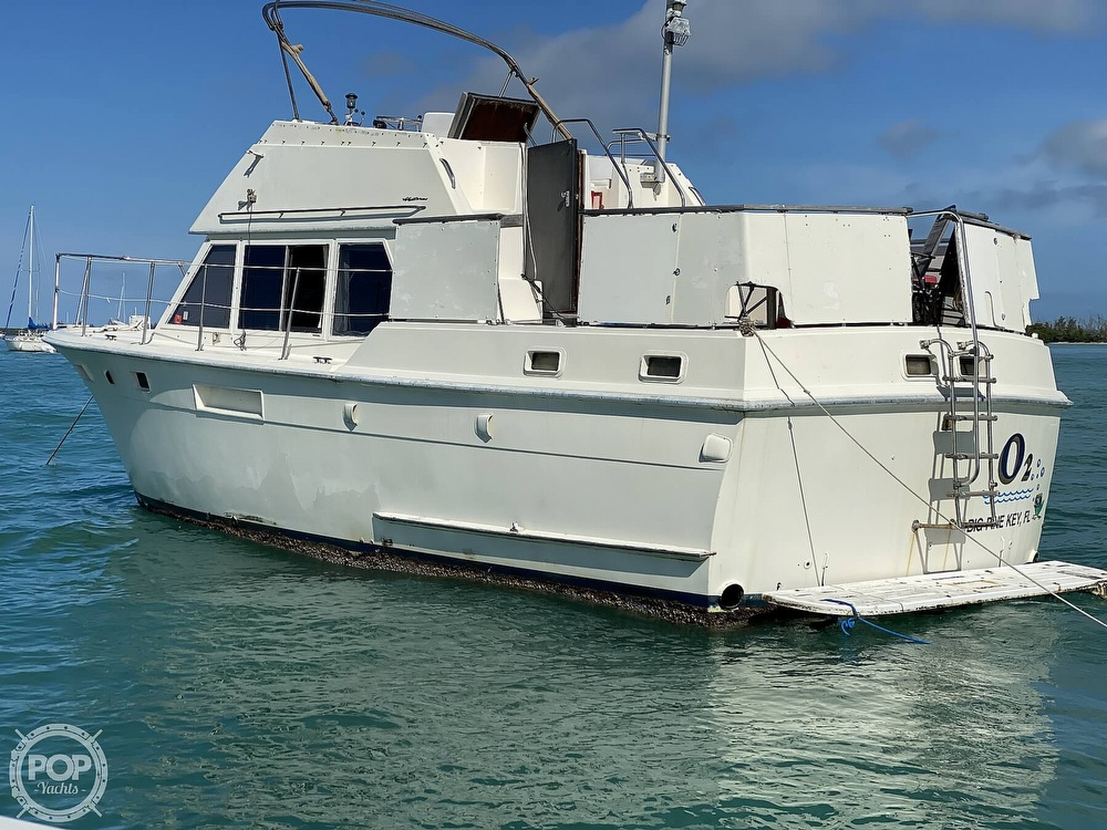 1973 Hatteras boat for sale, model of the boat is 38 Double Cabin & Image # 3 of 40