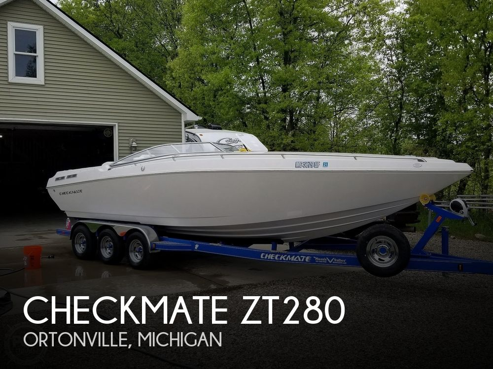 Used Boats For Sale in Saginaw, Michigan by owner | 2018 Checkmate ZT280
