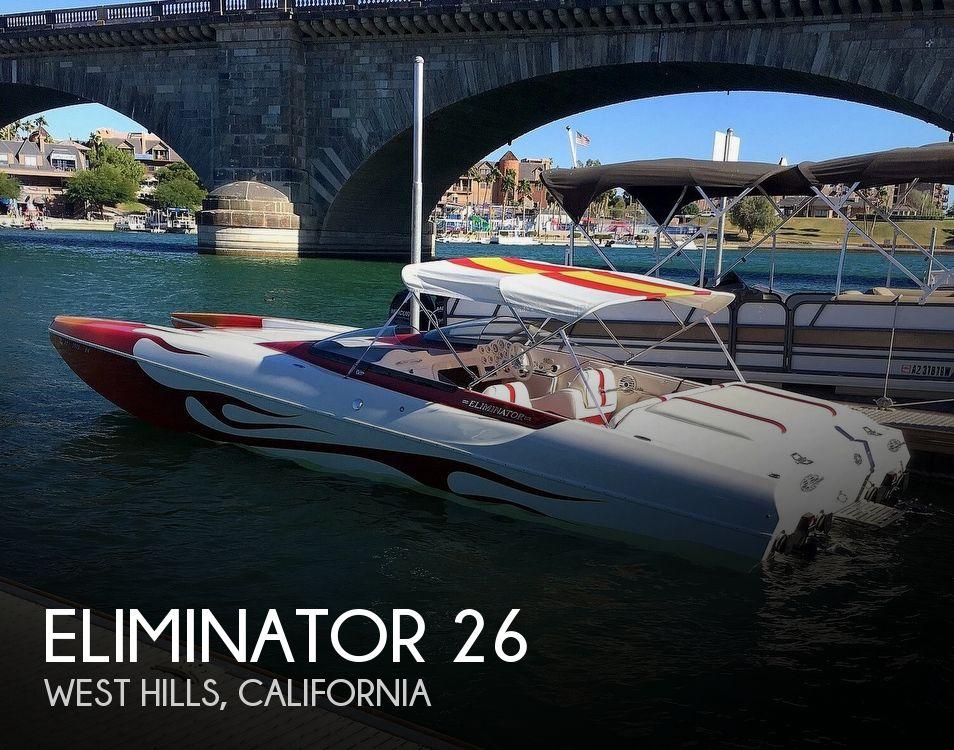Used ELIMINATOR Boats For Sale by owner | 2002 Eliminator 26 Daytona ICC