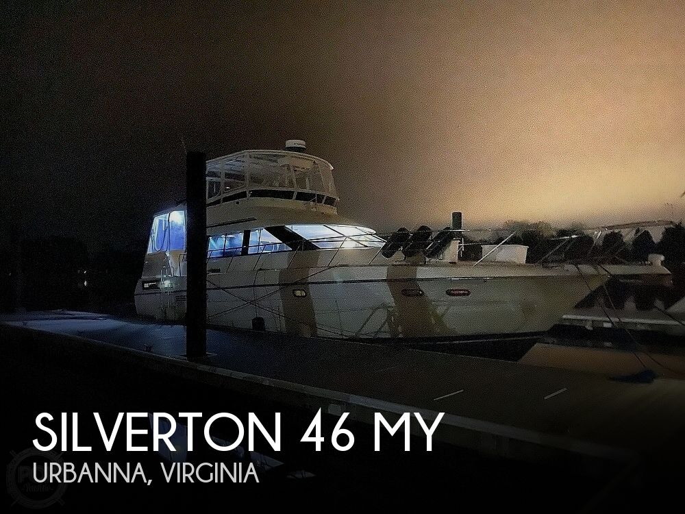 1989 SILVERTON 46 MY for sale