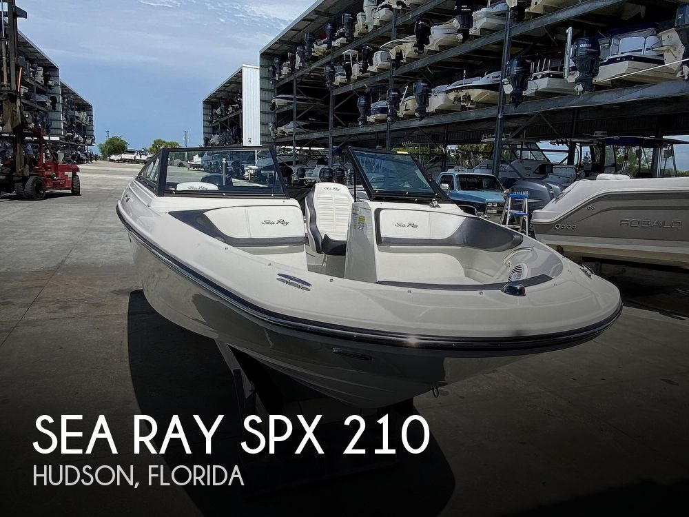 2018 SEA RAY SPX 210 for sale