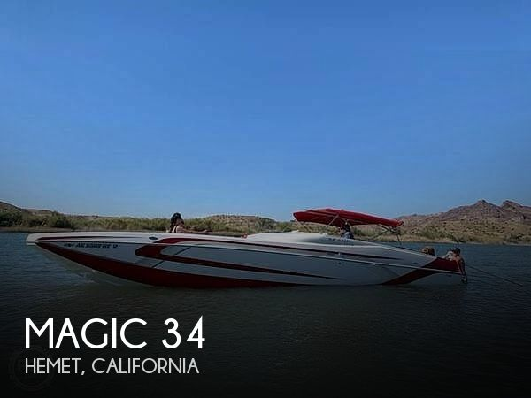 Used Magic Boats For Sale by owner | 2005 Magic 34