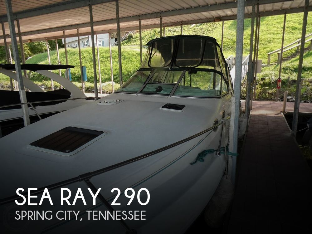 1994 Sea Ray boat for sale, model of the boat is 290 Sundancer & Image # 1 of 40
