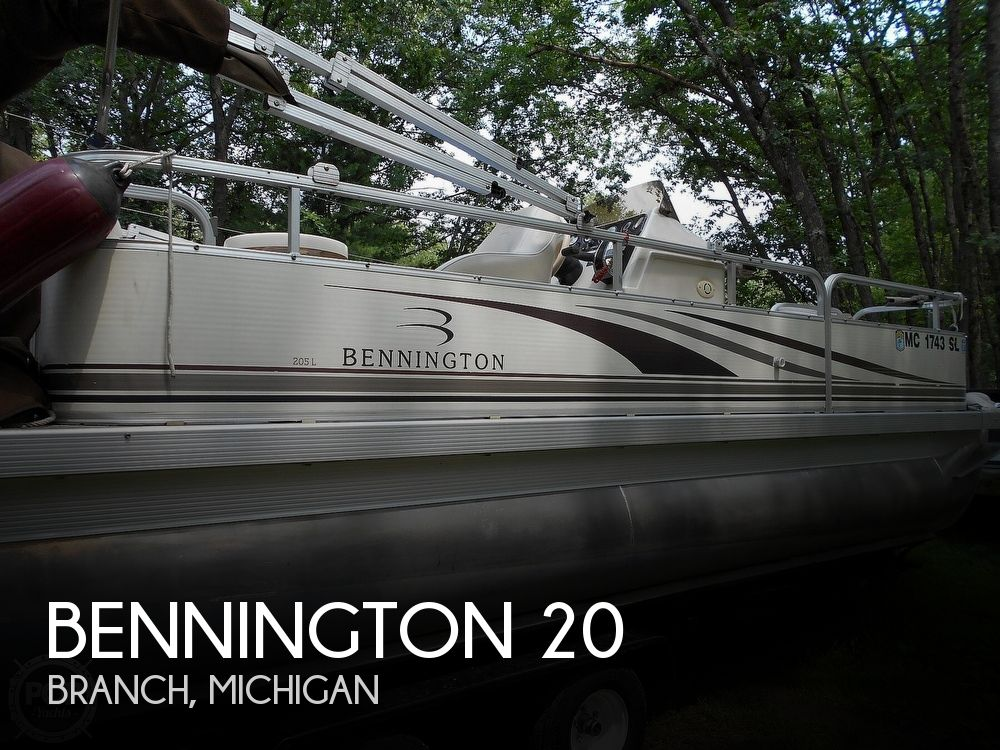 Used Pontoon Boats For Sale in Michigan by owner | 2003 Bennington 20