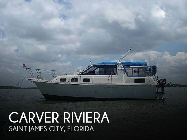 Used Carver Boats For Sale in Florida by owner | 1987 28 foot Carver Riviera