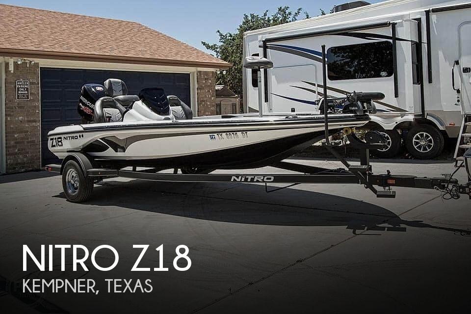 Used NITRO Z18 Boats For Sale by owner | 2017 Nitro Z18