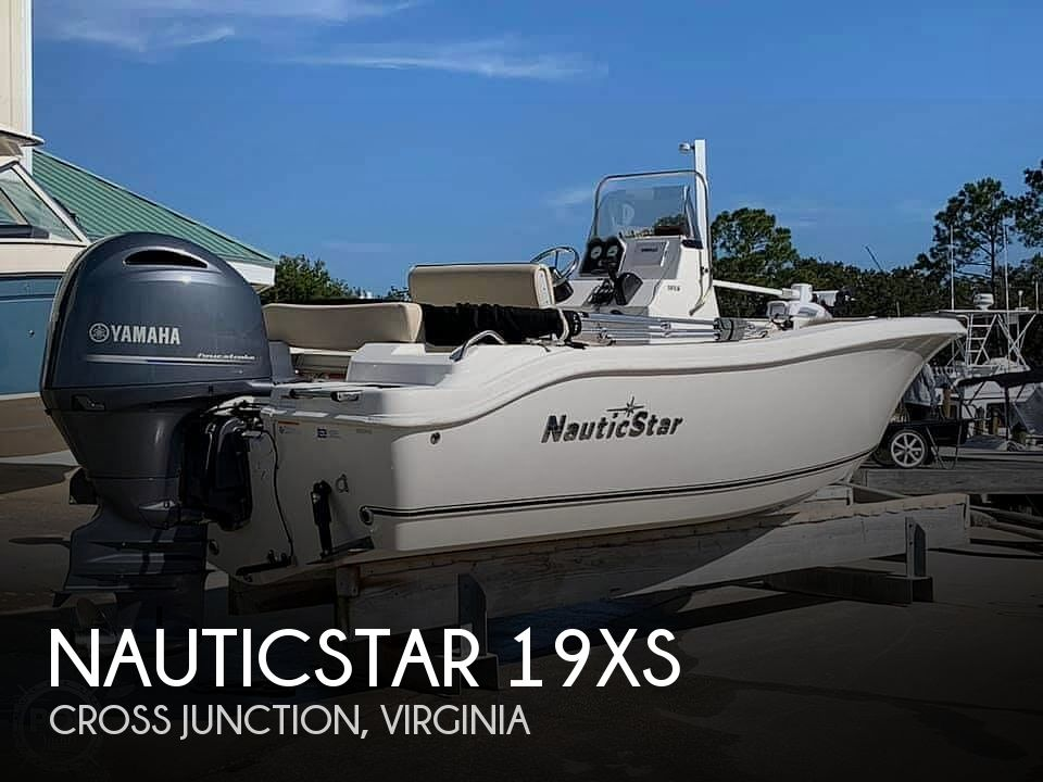 2018 NAUTIC STAR 19XS for sale
