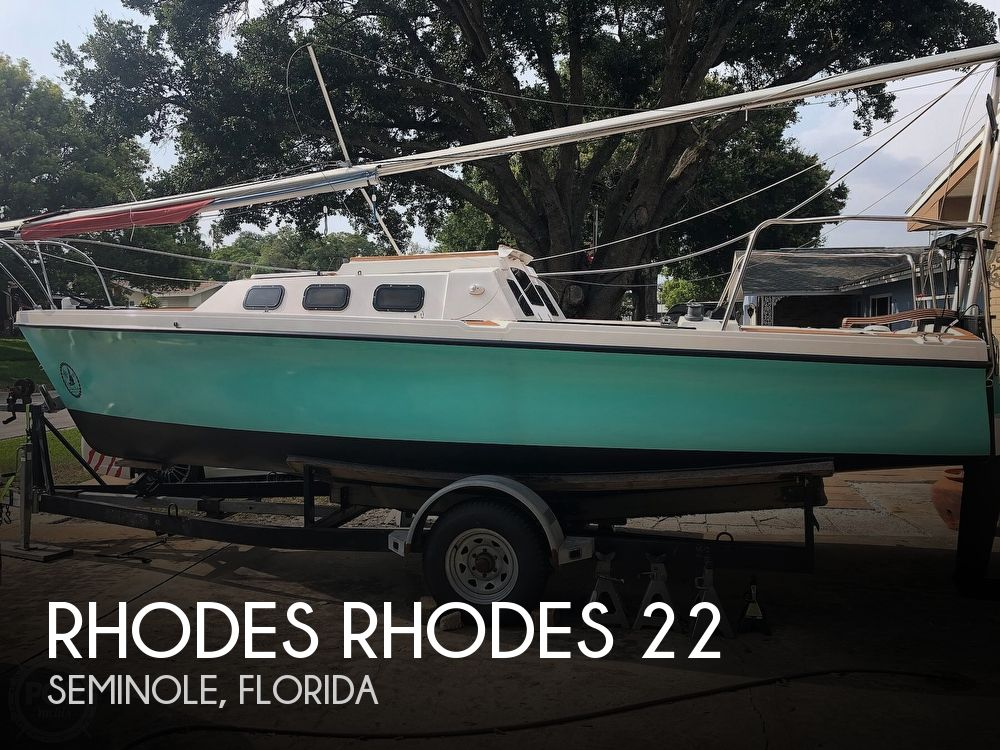 Used Rhodes Boats For Sale by owner | 1993 Rhodes Rhodes 22