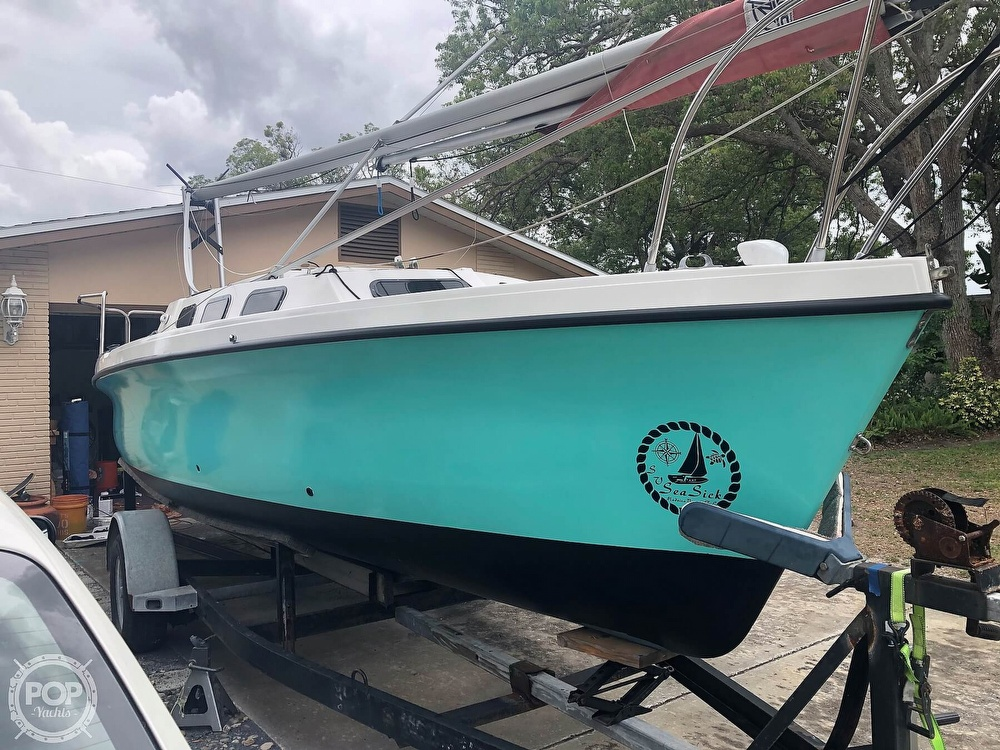 1993 Rhodes boat for sale, model of the boat is Rhodes 22 & Image # 3 of 40