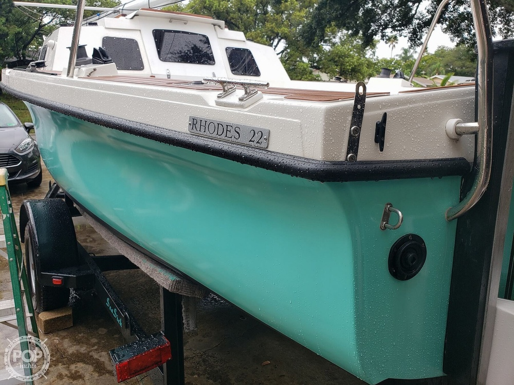 1993 Rhodes boat for sale, model of the boat is Rhodes 22 & Image # 29 of 40