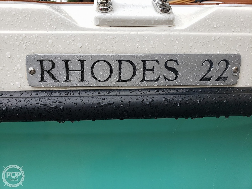 1993 Rhodes boat for sale, model of the boat is Rhodes 22 & Image # 32 of 40