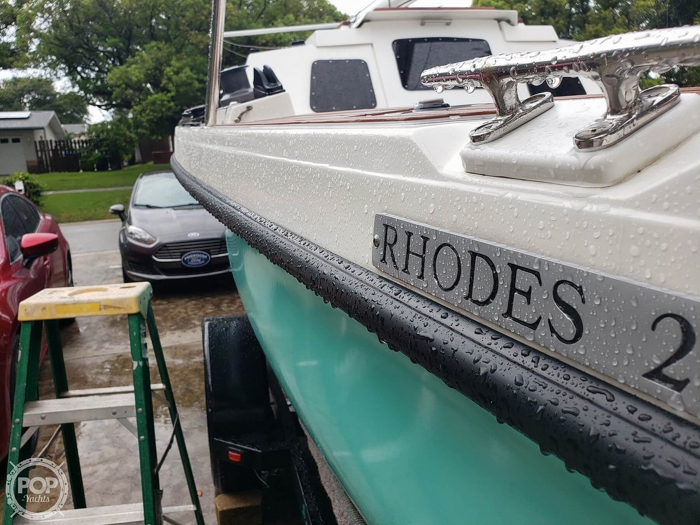1993 Rhodes boat for sale, model of the boat is Rhodes 22 & Image # 33 of 40