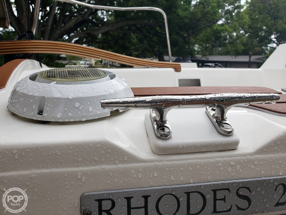 1993 Rhodes boat for sale, model of the boat is Rhodes 22 & Image # 40 of 40